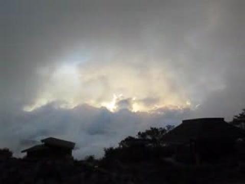 2009.09.14塔塔加上東埔的莫拉克肆虐災情(有日落雲海哦!)