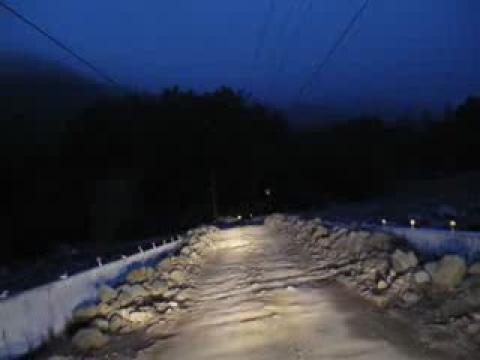 2009.09.13特富野獨行至十字路~巴沙娜大橋被土石覆蓋!